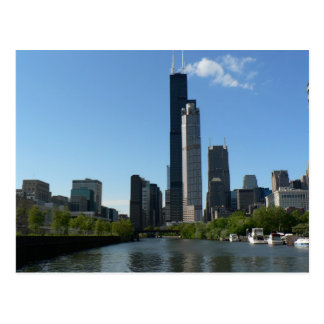 Horizonte de Chicago Postales