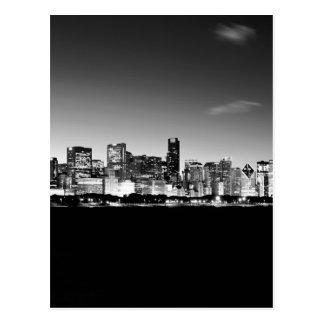 Horizonte de Chicago Tarjetas Postales