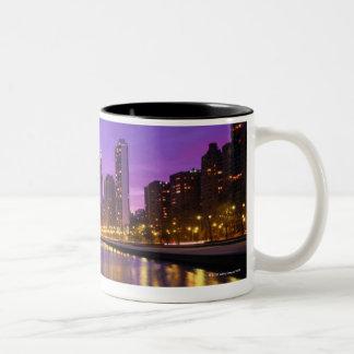 Horizonte de Chicago Taza De Café