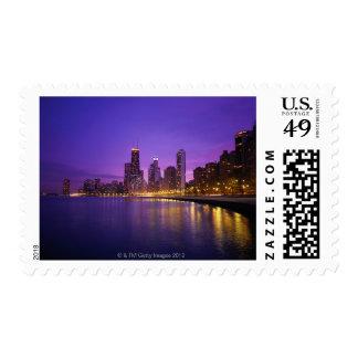 Horizonte de Chicago Timbres Postales