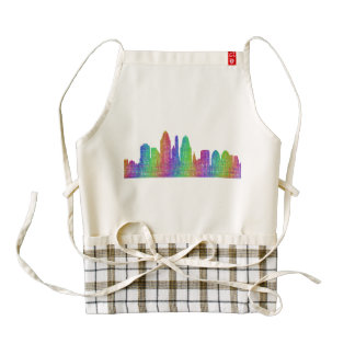 Horizonte de Cincinnati Delantal Zazzle HEART