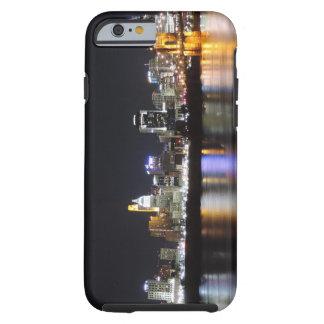 Horizonte de Cincinnati en la noche Funda De iPhone 6 Tough