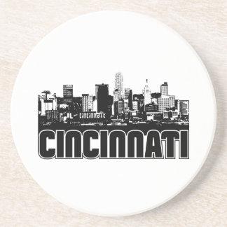 Horizonte de Cincinnati Posavasos Para Bebidas