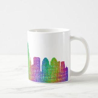 Horizonte de Cincinnati Taza De Café