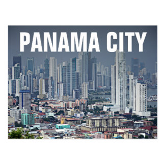 Horizonte de ciudad de Panamá Postales