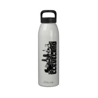 Horizonte de Cleveland Botella De Agua Reutilizable