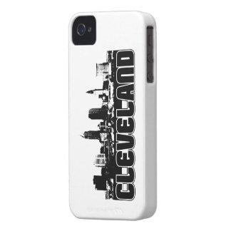 Horizonte de Cleveland Case-Mate iPhone 4 Protector