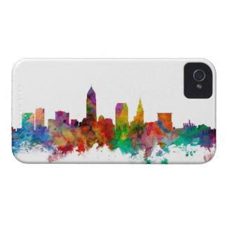 Horizonte de Cleveland Ohio iPhone 4 Case-Mate Coberturas