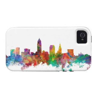 Horizonte de Cleveland Ohio Vibe iPhone 4 Carcasa