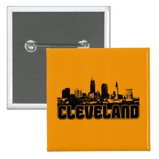 Horizonte de Cleveland Pin Cuadrado