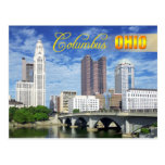 Horizonte de Columbus, Ohio Tarjetas Postales