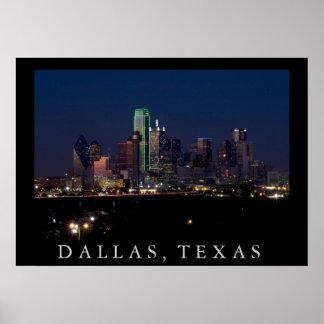 Horizonte de Dallas Poster