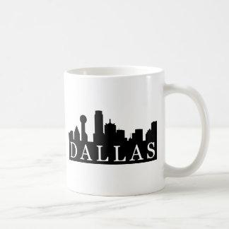 Horizonte de Dallas Taza De Café