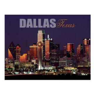Horizonte de Dallas, Tejas Tarjeta Postal