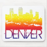 Horizonte de Denver Alfombrillas De Ratones