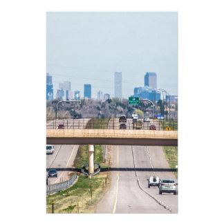Horizonte de Denver Colorado Papelería