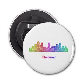 Horizonte de Denver del arco iris Abrebotellas Redondo