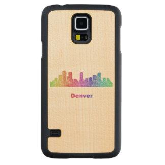 Horizonte de Denver del arco iris Funda De Galaxy S5 Slim Arce