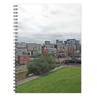 Horizonte de Denver Spiral Notebook