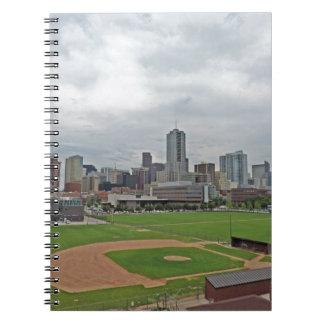 Horizonte de Denver Spiral Notebooks