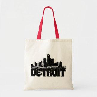 Horizonte de Detroit Bolsa Tela Barata