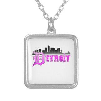 Horizonte de Detroit Colgantes Personalizados