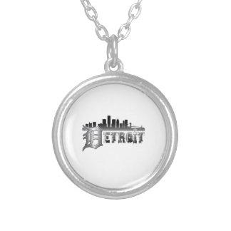 Horizonte de Detroit Collares Personalizados