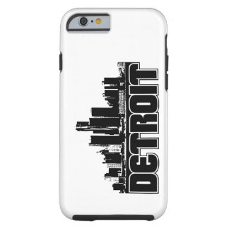 Horizonte de Detroit Funda De iPhone 6 Tough