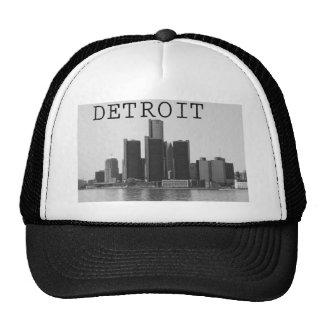 Horizonte de Detroit Gorros Bordados