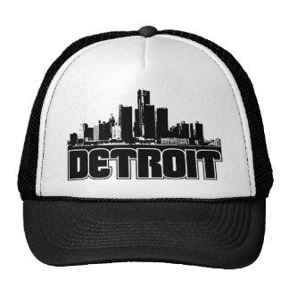 Horizonte de Detroit Gorro De Camionero