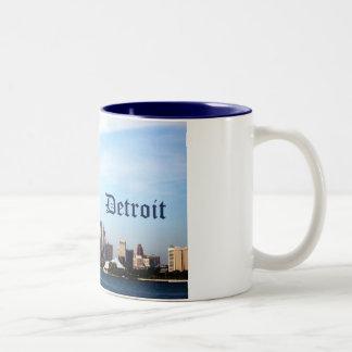 horizonte de Detroit Taza