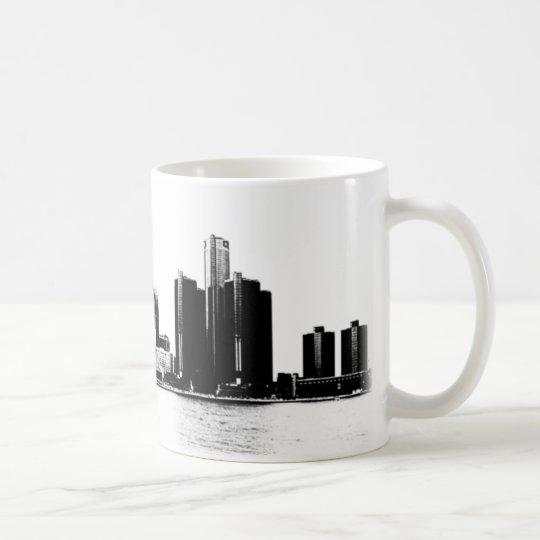 Horizonte de Detroit Taza De Café