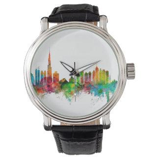 Horizonte de Dubai Reloj De Mano