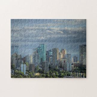 Horizonte de Edmonton Canadá Puzzles Con Fotos