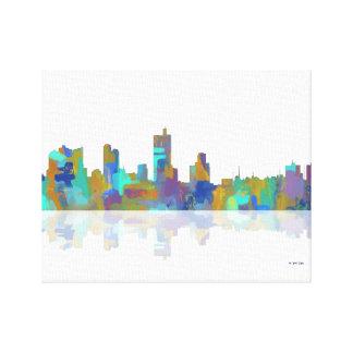 Horizonte de Fort Worth Tejas Impresión En Lienzo Estirada