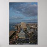 Horizonte de Fukuoka Poster