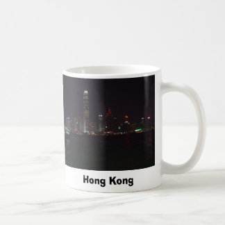 Horizonte de Hong Kong Taza