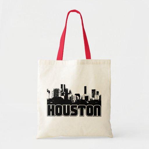 Horizonte de Houston Bolsa Tela Barata