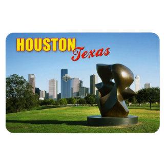 Horizonte de Houston del parque de Eleanor Tinsley Iman