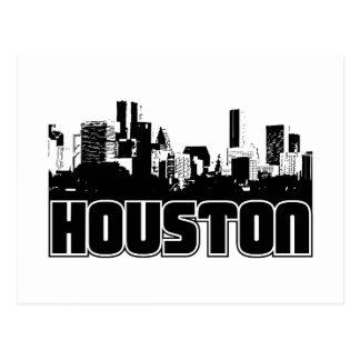 Horizonte de Houston Postales
