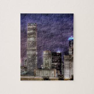 Horizonte de Houston Puzzle Con Fotos