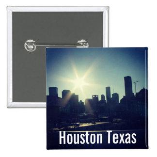 Horizonte de Houston Tejas [2] (botón) Pin