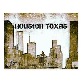 Horizonte de Houston Tejas (postal) Tarjeta Postal