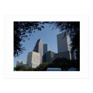 Horizonte de Houston Tejas Tarjeta Postal
