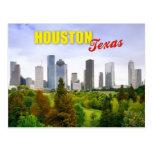 Horizonte de Houston, Tejas Tarjetas Postales