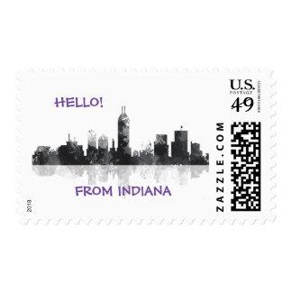 HORIZONTE de INDIANA, INDIANAPOLIS - sellos