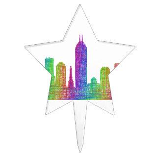 Horizonte de Indianapolis Figura De Tarta