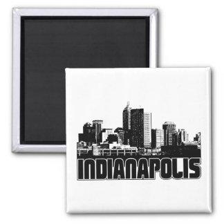 Horizonte de Indianapolis Imán De Nevera