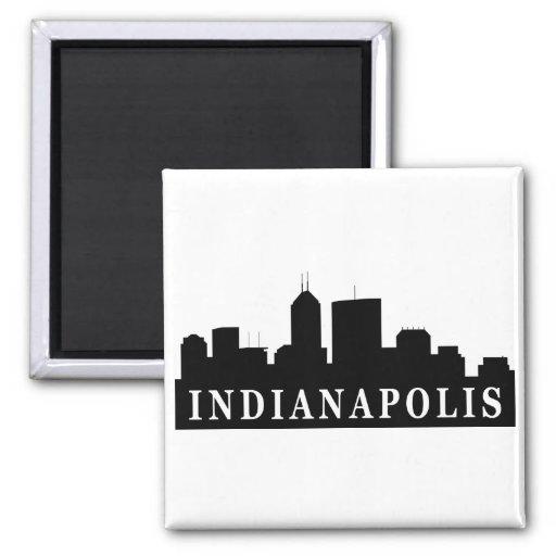 Horizonte de Indianapolis Imán Cuadrado