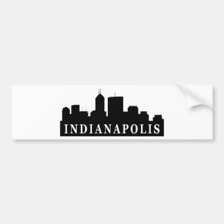 Horizonte de Indianapolis Pegatina Para Auto